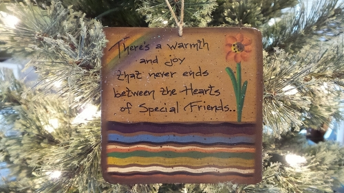 FRIEND PLAQUE WARMTH